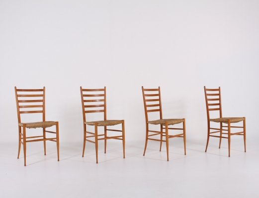 Four Spinetto chairs by Chiavari