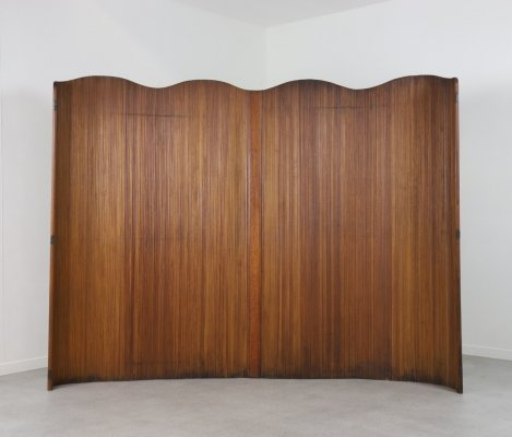 Large paravent / room divider by Jomain Baumann, France 1930s