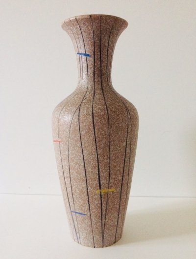 West Germany Ceramic Vase, 1960's