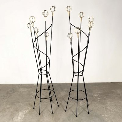 Geo Astrolabe Coat Stand by Roger Feraud, 1950s