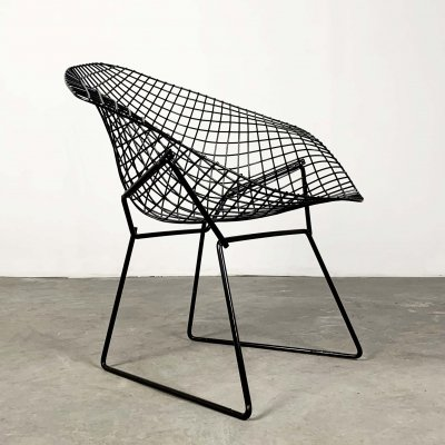 Black Diamond Chairs by Harry Bertoia for Knoll