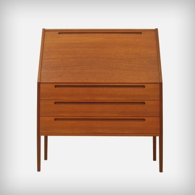 Danish Teak Secretary by Kai Kristiansen for Tørring Møbelfabrik, 1960s