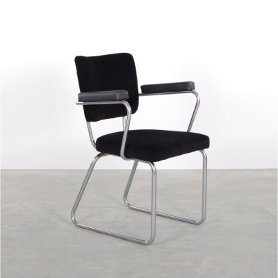 Gispen 352 conference chair by Christoffel Hoffmann, 1950s