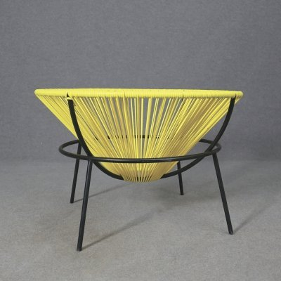 Lina Bo Bardi MidCentury Bowl Chair in Iron & plastic, 1951