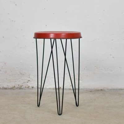 Industrial stool by Tjerk Reijenga for Pilastro, The Netherlands 1950's