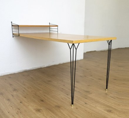 Original String Shelf with table, 1960s