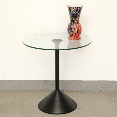 Glass top Sidetable by COR