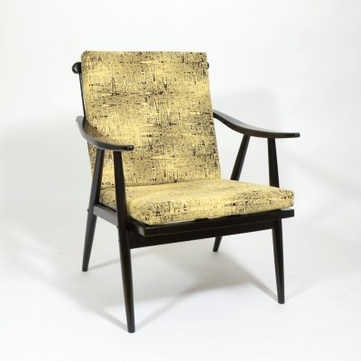 1960s TON Armchair with removable cushion