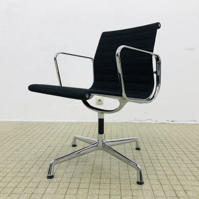 Vitra ea108 black hopsack office/dining chair by Charles & Ray Eames