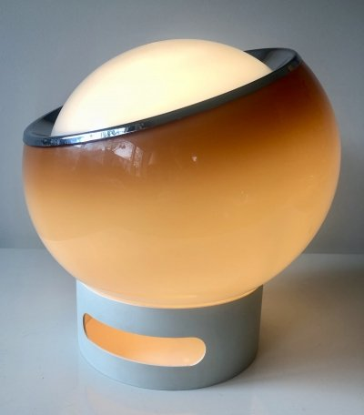 Quite rare desk/floor lamp 'Clan' from the Bud Grande series by Guzzini, 1968