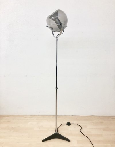 Early Globe D2000 floor lamp by Frank Ligtelijn for Raak Amsterdam, 1960s