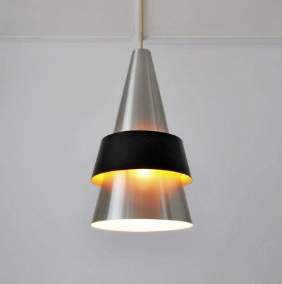 Corona hanging lamp by Jo Hammerborg for Fog & Mørup, 1960s