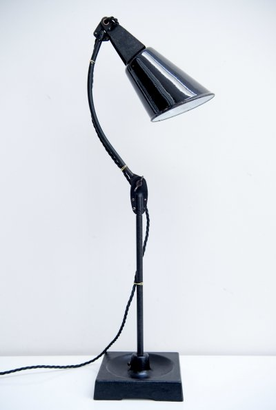 Industrial Desk Lamp by Walligraph, England 1930s