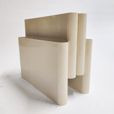 Mid century Magazine Rack by Giotto Stoppino for Kartell, 1970s