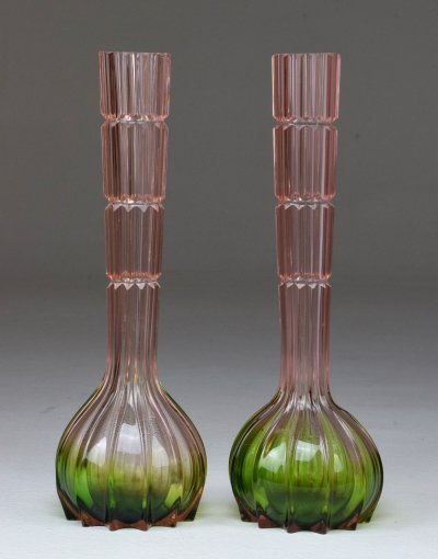 20th Century French Vintage Crystal Vases, 1960s