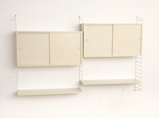White Ladder Shelf by String, 1970s