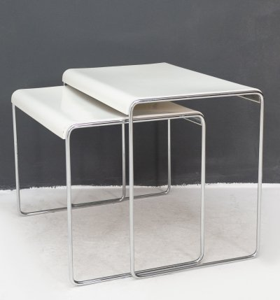 Pair of side tables by Läsko, 1970s