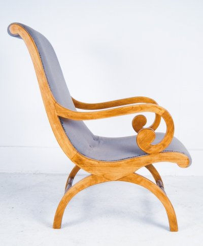 Anglo Indian Single Teak Chair, 1920s
