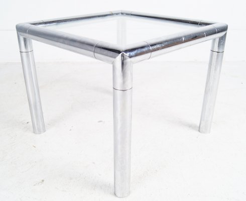 Tubular Chrome Cocktail Sidetable, 1960's