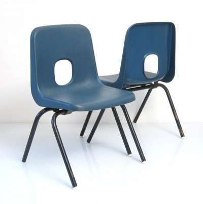 2 Robin Day Hille childrens chairs, 1960s