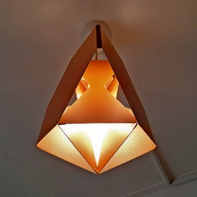 Seks-Tre hanging lamp by Ole Panton for Lyfa, 1960s