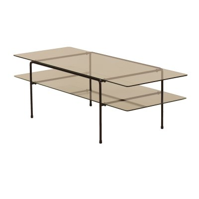 Glass Rectangular Coffee Table 3637 by André Cordemeyer for Gispen, 1950s