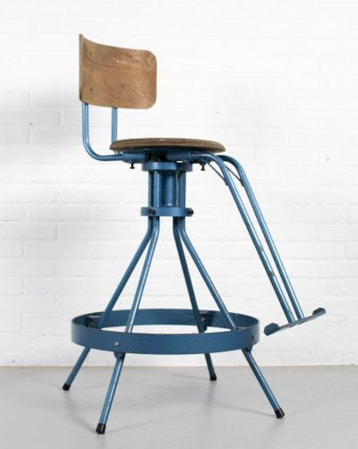 Industrial Mid Century Architect's Chair