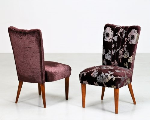 Pair of MidCentury armchairs by Osvaldo Borsani for ABV Arredamenti, 1950s