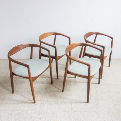 Set of 4 'Troja' chairs by Kai Kristiansen