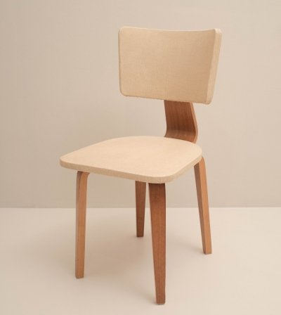 Plywood dining chair by Cor Alons for Den Boer, 1950s