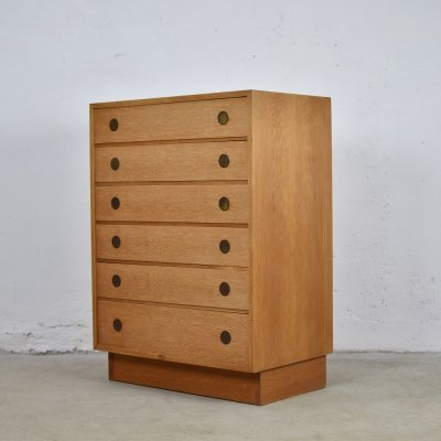 Chest of drawers produced by Dyrlund, Denmark 1960's
