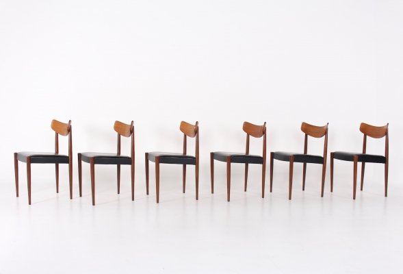6 Oswald Vermaercke 'Paola' dining chairs
