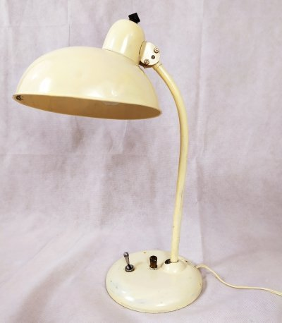 Model 6556 desk lamp by Christian Dell for Kaiser Idell