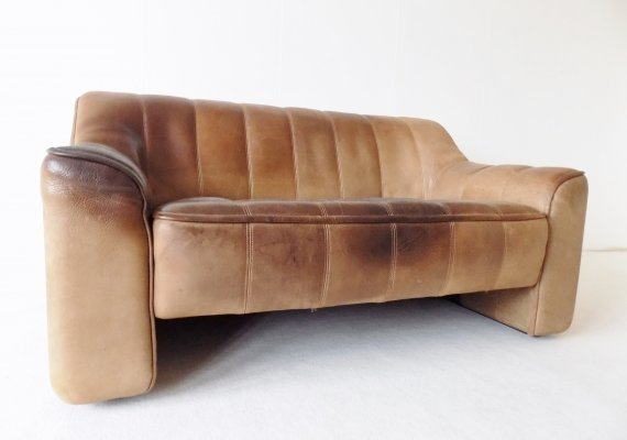 De Sede DS 44 2 seater leather sofa