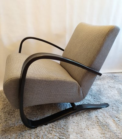 H-269 arm chair by Jindřich Halabala for Thonet, 1940s