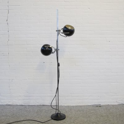 Vintage metal floor lamp, 1960s