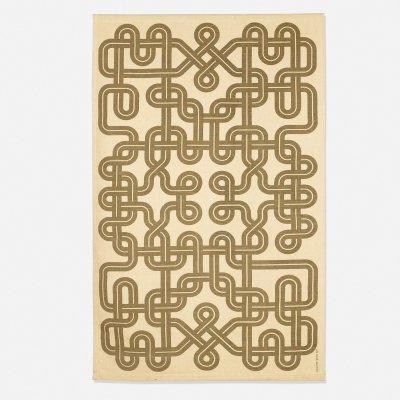 Alexander Girard 'Knots' Environment Enrichment Panel for Herman Miller, 1972