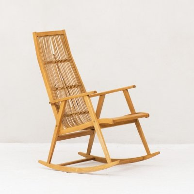 Vintage Rocking chair, France 1970's