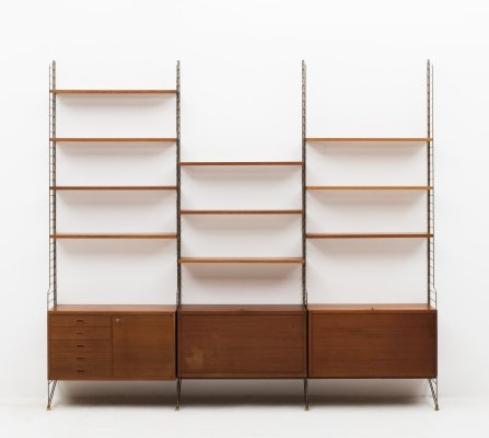 Wall unit by Nisse Strinning for String, Sweden 1950's
