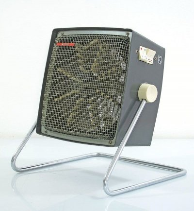 Vintage Philips heater with fan, 1950s
