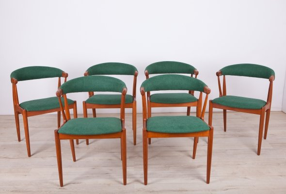 Set of 6 Dining Chairs by Johannes Andersen for Brdr. Andersens Møbelfabrik, 1963