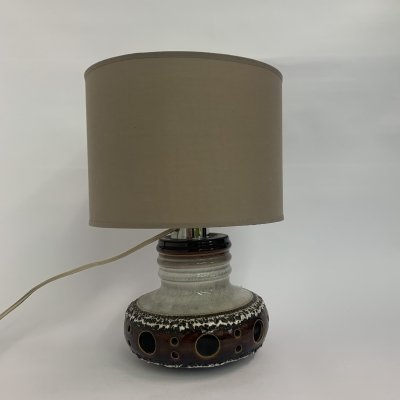 Vintage Herda ceramic table lamp, 1970's