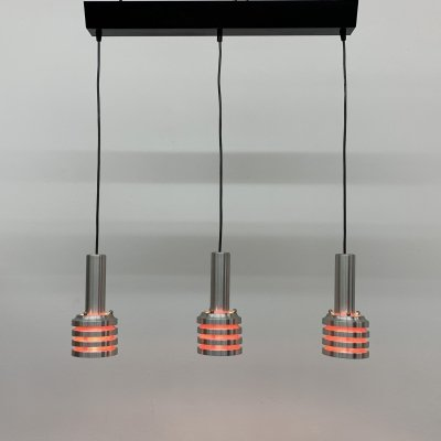 Aluminium space age Hanging lamp, 1970's