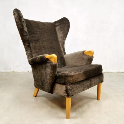 Vintage Parker Knoll 'Model 757' wingback chair, 1960s