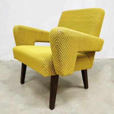 Vintage Czech design Tatra arm chair