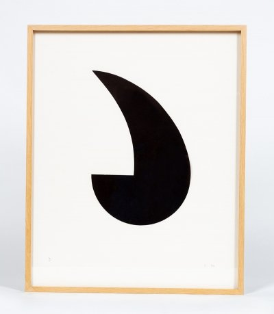 Paper cutting by Théodor Bally, 1974