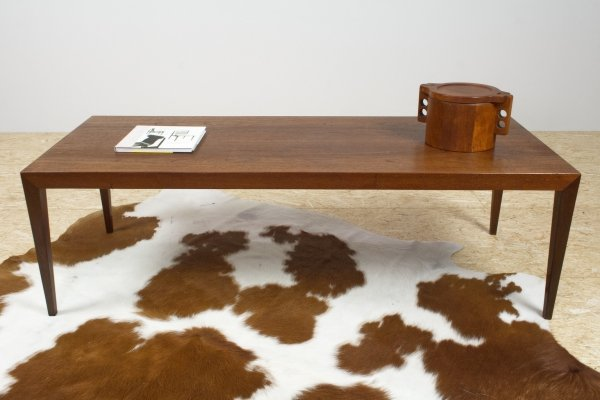 Large coffee table in teak by Severin Hansen for Bovenkamp, 1960s