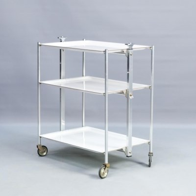 Folding serving table trolley for Textable, 1960s