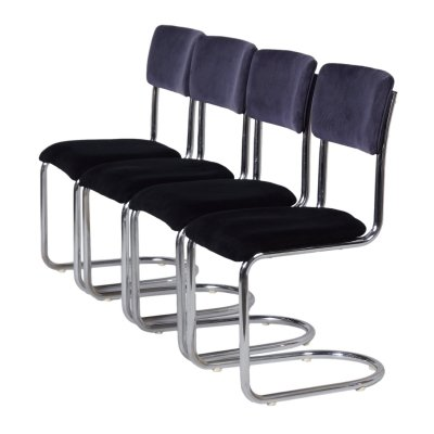 1017 Cantilever Chairs by De Wit, 1950s
