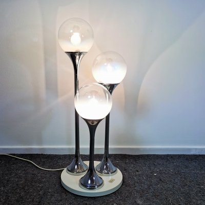 Italian Table or Ceiling Light by Targetti, 1960's
